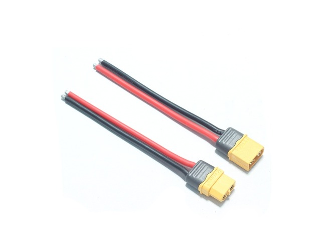 AMASS XT60+ Plug Connector 14AWG 10cm Power Cable Wire | free-classifieds-canada.com