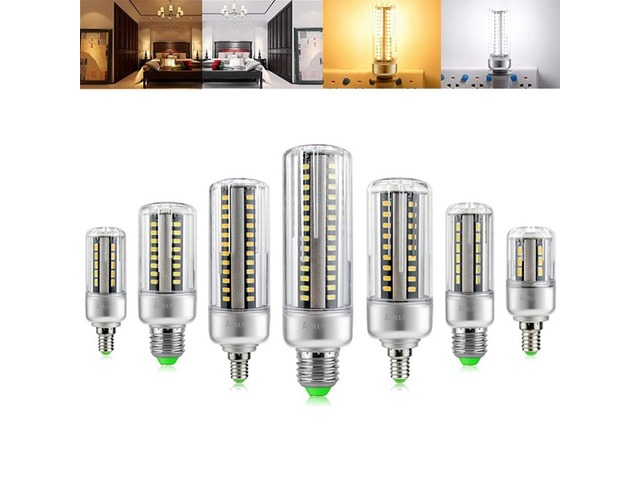 ARILUX® HL-CB 01 E27 E14 5W 7W 9W 12W 15W 20W 25W 5736 SMD Aluminum No Flicker LED Corn Bulb Light | free-classifieds-canada.com