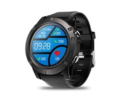 Zeblaze VIBE 3 Pro Full Round Touch Real-time Weather Optical Heart Rate All-day Tracking Smart Watc