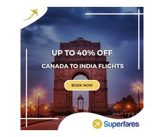 Top Best Flight Deals to India from Vancouver