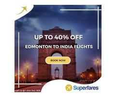 Top Best Flight Deals from Edmonton to India