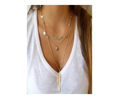 Gemstone Pendant Necklaces (1845270265)
