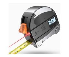 DANIU 30M Laser Rangefinder Anti-fall Steel Tape High Precision Infrared Digital Laser Distance Mete