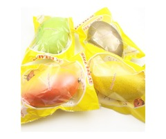 GiggleBread Squishy Mango 17cm Slow Rising Original Packaging Fruit Squishy Collection Decor
