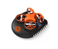 Eachine E016F 3-in-1 EPP Flying Air Boat Land Driving Mode Detachable One Key Return RC Quadcopter R