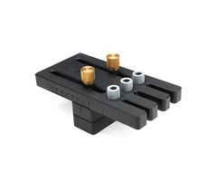 Wnew Woodworking Dowel Jig Set Drill Guide Locator Dowelling Jig Master Kit for 6/8/10mm Dowels