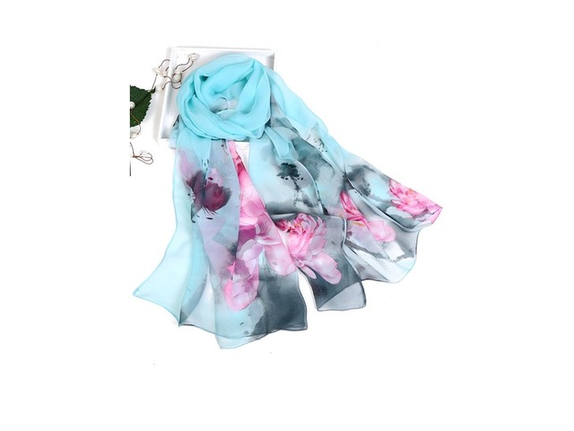 Polyester Floral Scarves (1775296276) | free-classifieds-canada.com