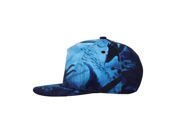 NUZADA Dacron Baseball Cap Flat Brim Hat Hip-Hop 3D Pattern Men Women Adjustable Cycling Hat | free-classifieds-canada.com