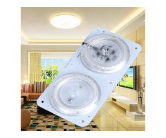 AC220V 12W 24W LED Ceiling Panel Module Dual Color Temperature Light Source Plate Magnetic Lamp