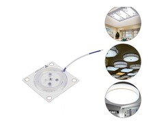 AC220V 12W 24W 36W LED Ceiling Panel Module Indoor White Light Source Replace Plate Magnetic Lamp