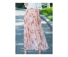 Floral Maxi Elegant Skirts (1725383123) | free-classifieds-canada.com