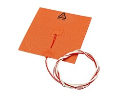 110V/220V 180w 150*150mm Silicone Heated Bed Heating Pad for 3D Printer with NTC 100K Glue