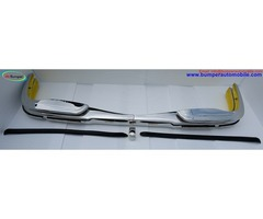 Mercedes W108 bumper (1965-1973) by stainless steel