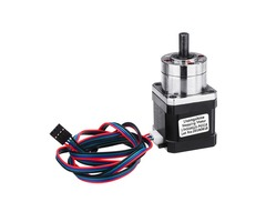 17HS4401S-PG518 4-lead Nema17 Extruder Gear Ratio 5.18:1 Planetary Gearbox Stepper Motor For 3D Prin
