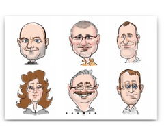 Avail the Service of Caricature from Photographs