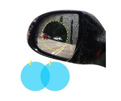 BIKIGHT Cycling Bike Mirror Car Rearview Mirror Waterproof Membrane Anti-fog Anti-Glare Film Sticker