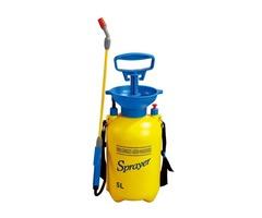 BIKIGHT 5L Air Pressure Sprayer 1.3m Hose Adjustable Nozzle Sprayer Bike Cleaning Tools