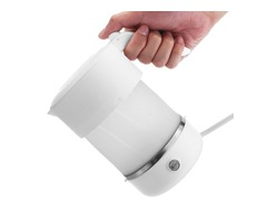 600W 110-240V 500ML Foldable Silicone Electric Kettle Tea Coffee Boiler Jug
