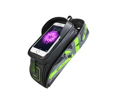BIKIGHT 5.8/6in Universal Waterproof Touch Screen Bike Holder Cycling Bicycle Frame Front Tube Phone