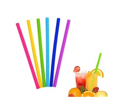 IPRee® 1Pcs Silicone Drinking Straw Reusable Folding Water Cup Straw Sucker