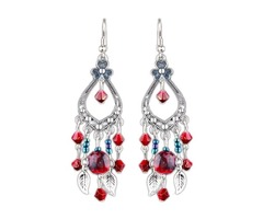 Crystal Dangle Earrings (1855394325)