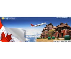 Book Cheap Flight Offers From Canada to Trivandrum | TRV