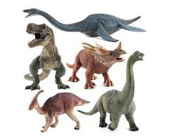 Large Brachiosaurus Dinosaur Toy Realistic Solid Plastic Diecast Model Gift To Kids