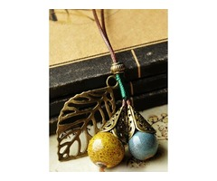 Ball No Stone Pendant Necklaces (1845396989)