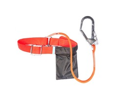 CAMNAL Polypropylene Fiber Climbing Belt 1.6m 3m with Hook Aloft Work Climbing Safety Rope Electrica