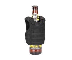 Adjustable Beer Bottle Vest Beverage Insulator Mini Cooler Tactical Cup Holder