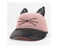 Cute Lace Sequins Animal Hats (1835400939)