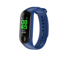 "XANES M3D 0.96"" OLED Color Screen IP67 Waterproof Smart Bracelet Pedometer Heart Rate Blood Pressure"
