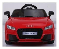 Licensed 12V Audi TT RS Child Ride-On Car, Doors, Remote , more