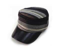 Mens Womens Autumn And Winter Military Style Hat