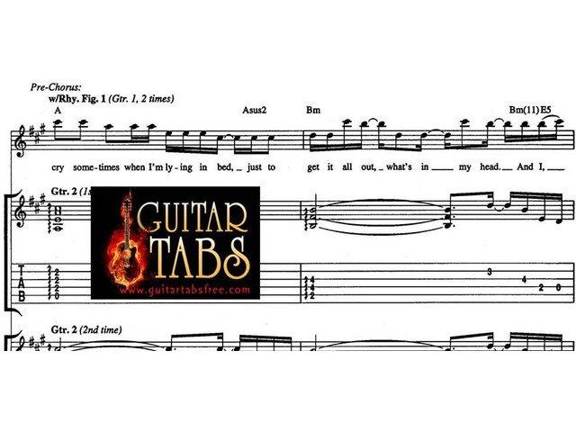 Guitar Tabs, Scales, Lyrics, Chords, Sheet Music & Song Books pdf Download free | free-classifieds-canada.com
