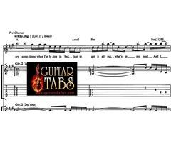 Guitar Tabs, Scales, Lyrics, Chords, Sheet Music & Song Books pdf Download free