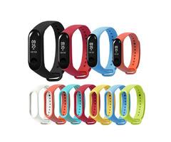 Bakeey Replacement Silicone Sports Soft Wrist Strap Bracelet Wristband for XIAOMI Mi Band 3