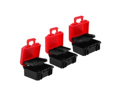 LENSGO D800 SD Dustproof XQD CF Card Case Anti-pressure Battery Box for DSLR Camera