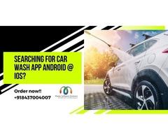 Car Wash App Development Services