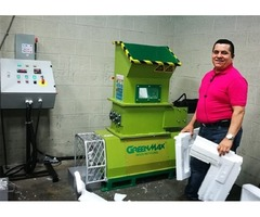 Styrofoam melting machine GreenMax Mars C100