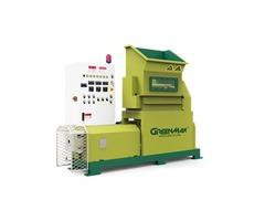 Foam recycling machine of GREENMAX M-C200