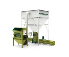 Foam recycling machine of GreenMax A-C300