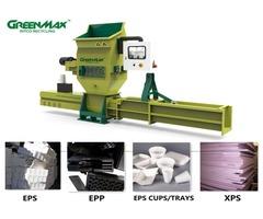 Hot sale GREENMAX A-C100 Styrofoam compactor
