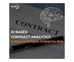 AI Based Contract Analytics A must to mitigate Enterprise Risk
