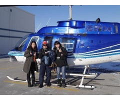 Explore The View of Yellowknife City By Helicopter Tour