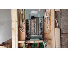 Electrician & apprentice provide services