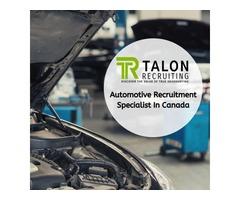 Automotive Recruitment Specialist In Canada