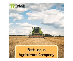 Best Agriculture Job Company in Canada