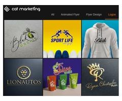 CAT Marketing  Logo Design Company in Edmonton