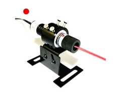 5mW to 100mW Pro Red Dot Laser Alignment with DC Power Supply